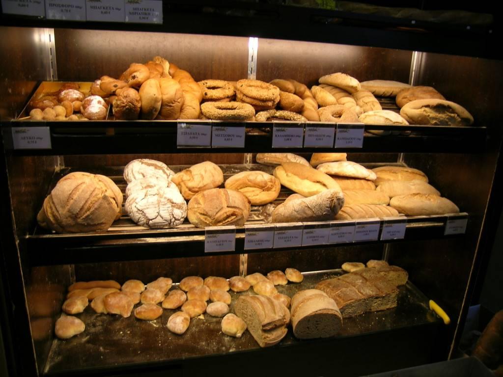 хлеб, выпечка