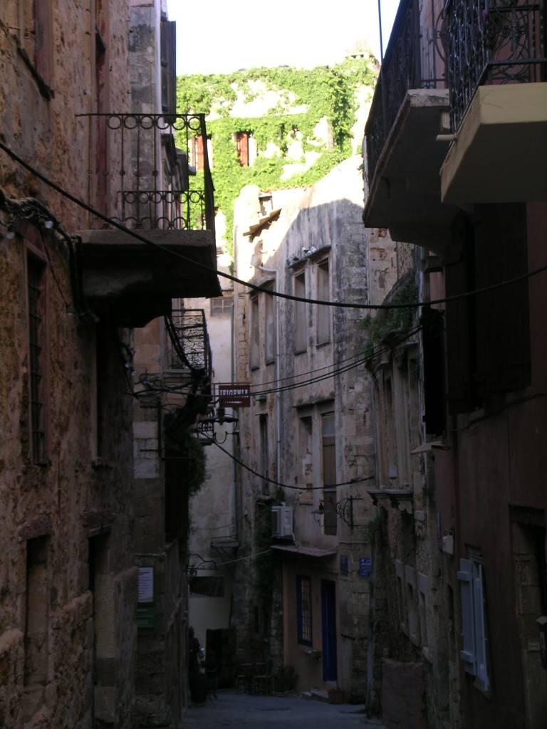 Старые улочки в Ханье