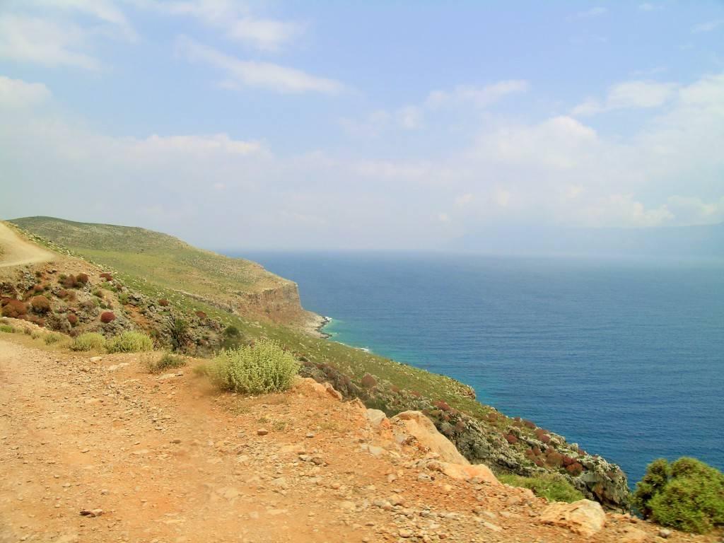 Дорога бухта Балос