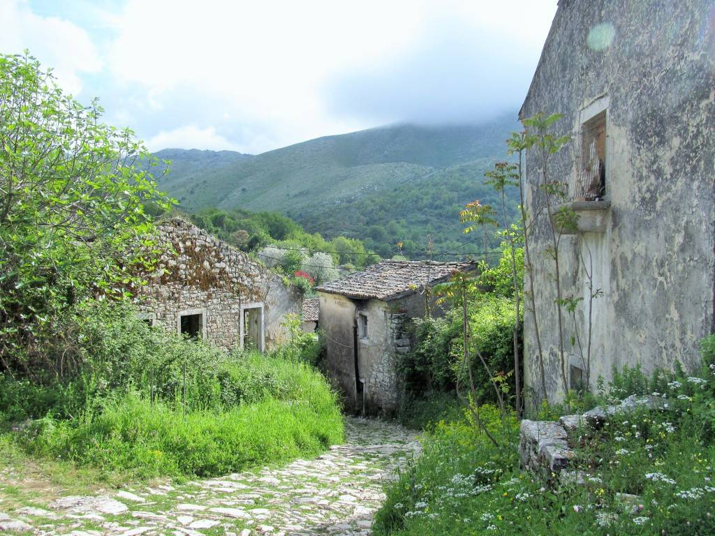 маршрут по острову Корфу Старая Перисия