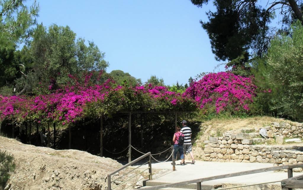 Поггода на Крите в мае