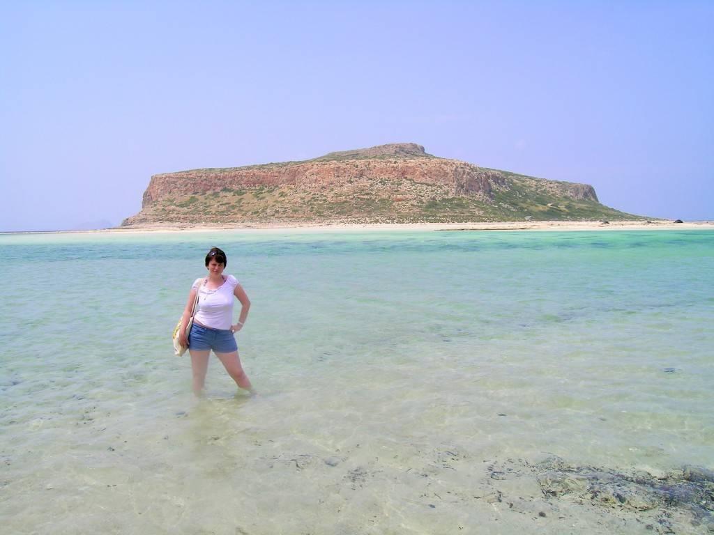Бухта Балос на Крите в мае
