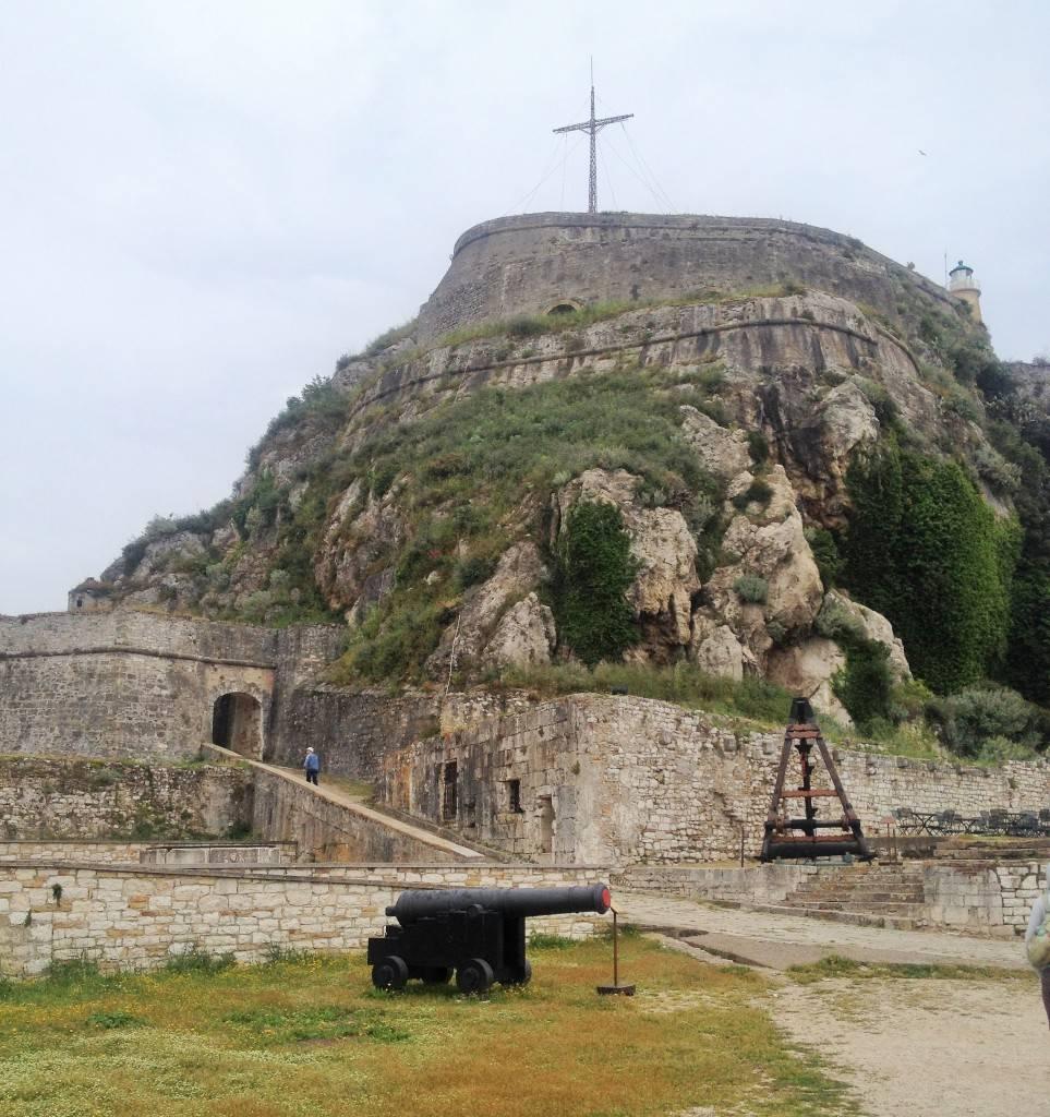 Старая крепость Керкира