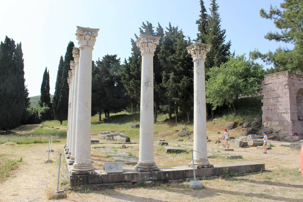 остров Кос достопримечательности Асклепион
