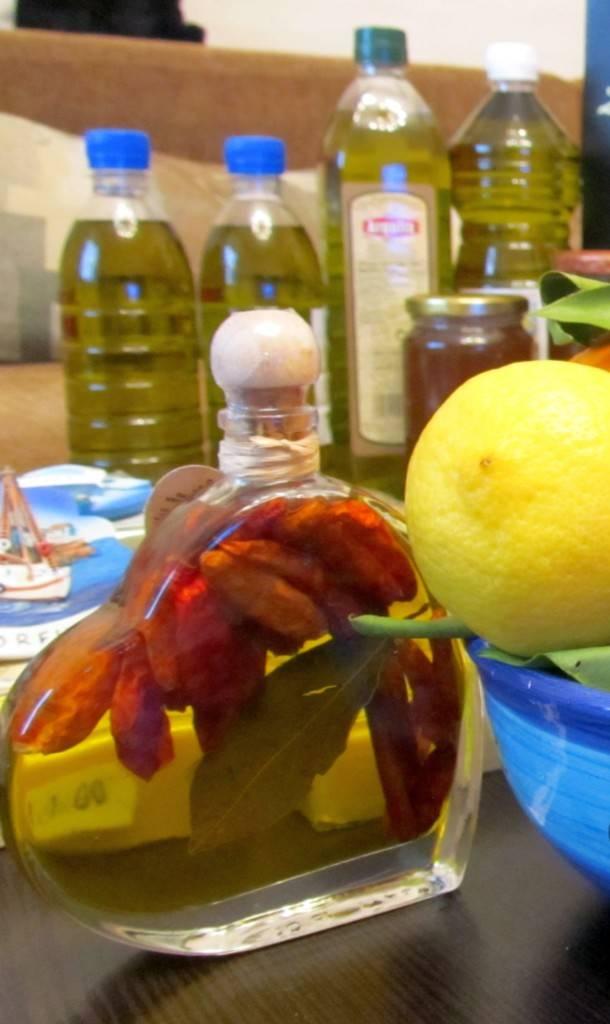 что привезти из Греции Оливковое масло