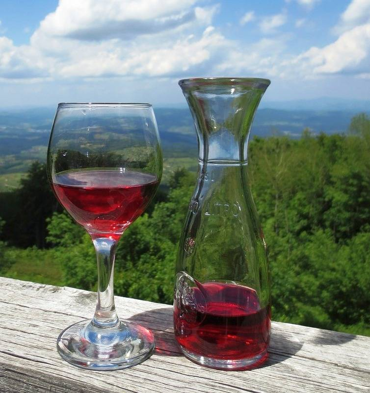 Домашнее вино быстрого приготовления