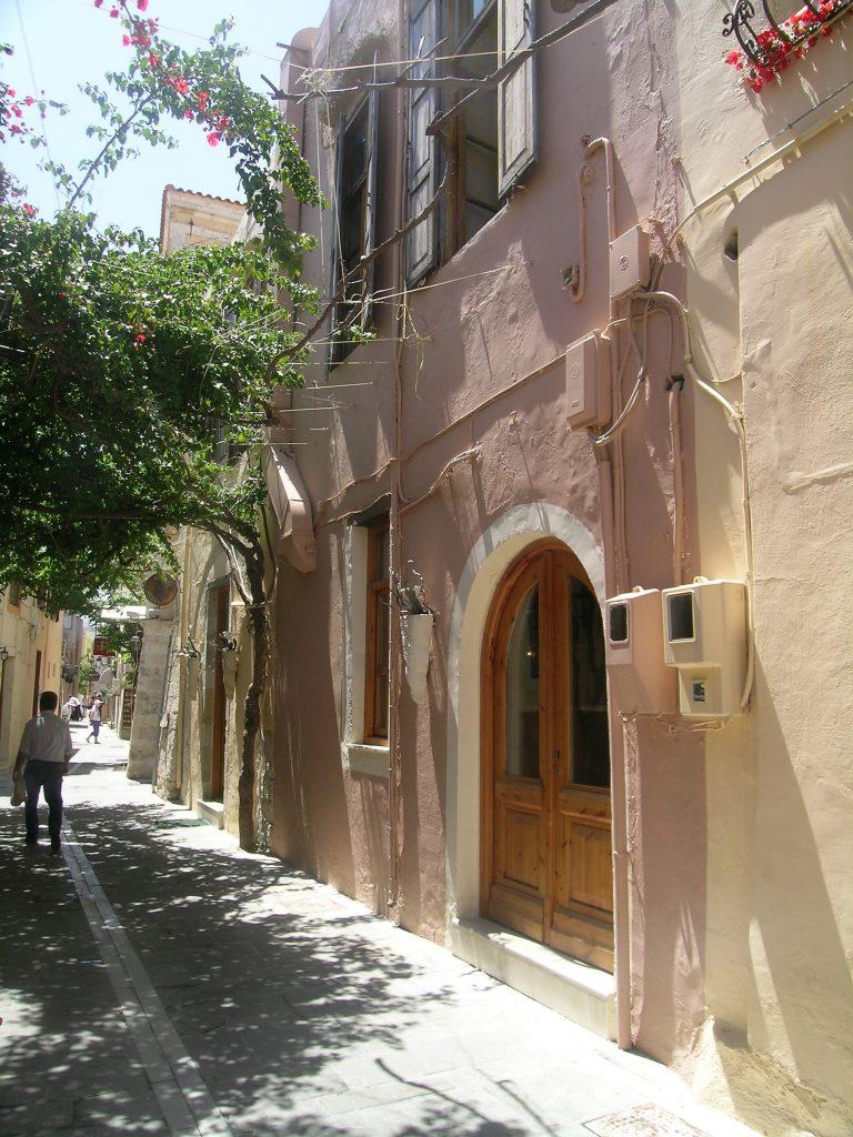 Венецианские кварталы. Ретимно. Крит.