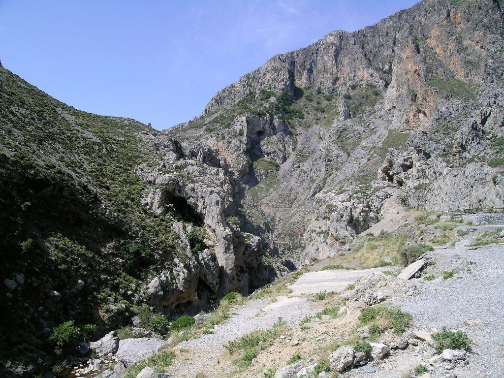 Ущелье Курталиотико. Крит