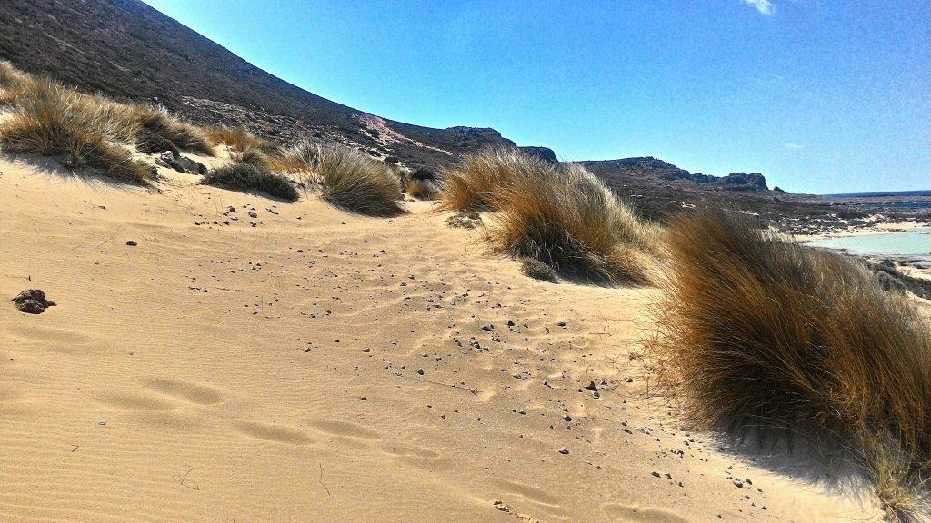 Песчаные дюны. Балос