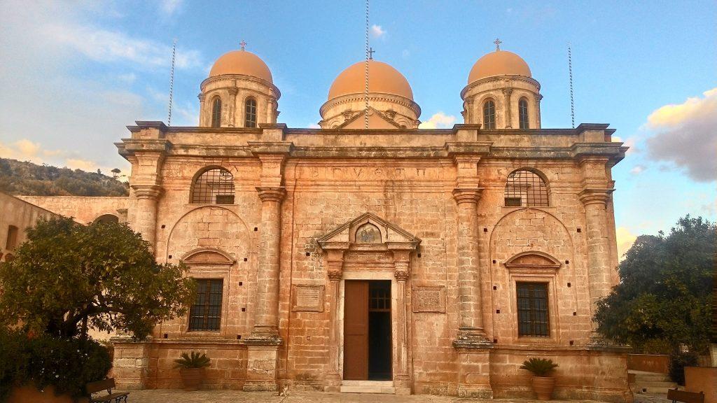 Монастырь Агия Триада на Ките