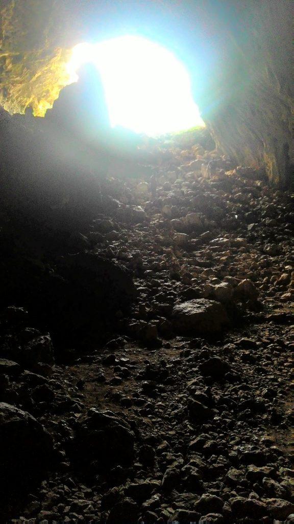 В пещере Скотино