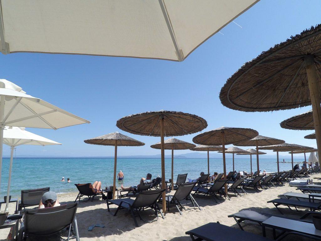 Пляж Ялла. Пефкохори