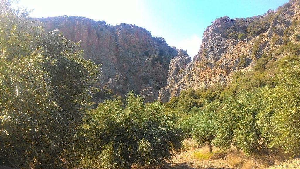 Ущелье Критса