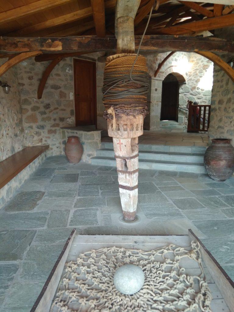В монастыре Святой Троицы